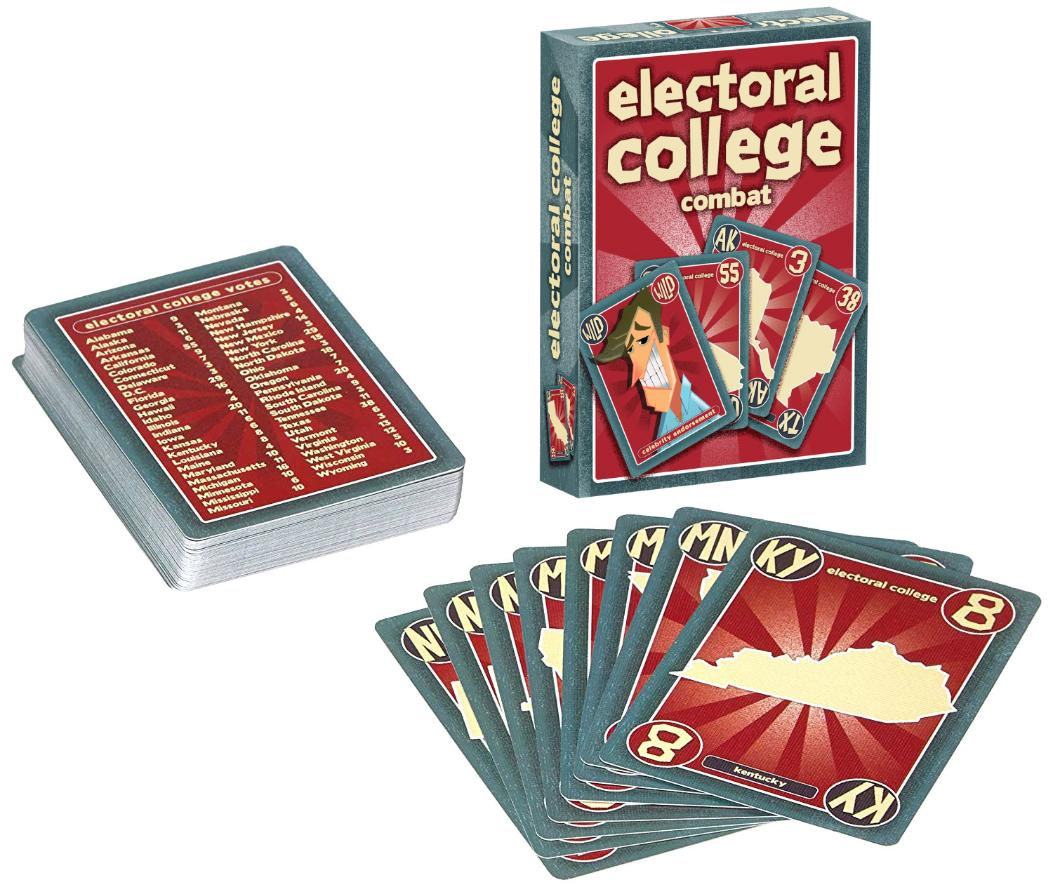 Electoral College Combat state cards
