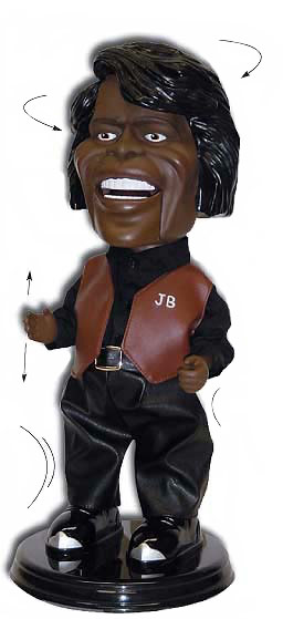 james brown dancing animatronic doll gemmy dolltv